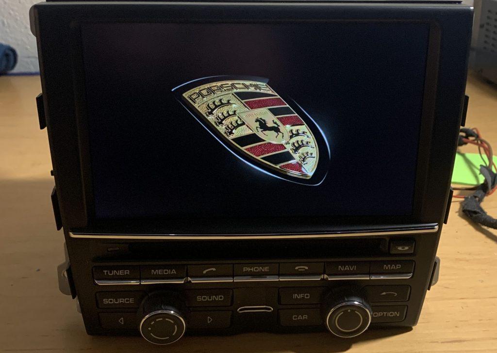Porsche PCM 3.1 Gerätenavigation