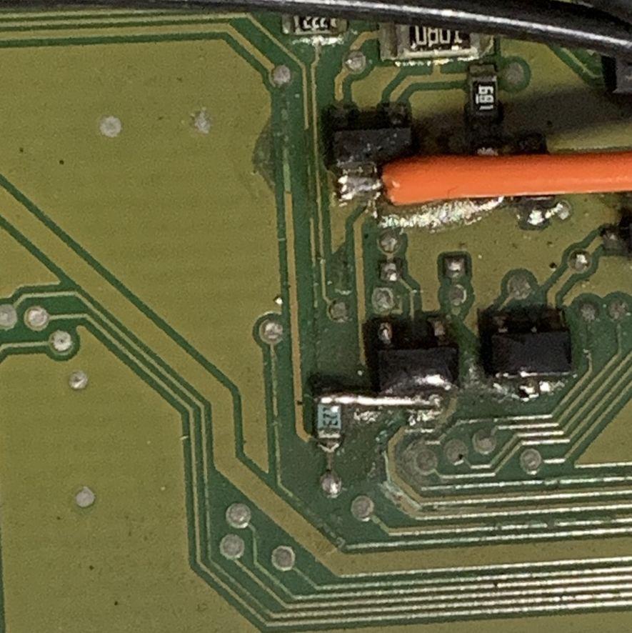 Amplificatore Harman Kardon w221 cattiva riparazione