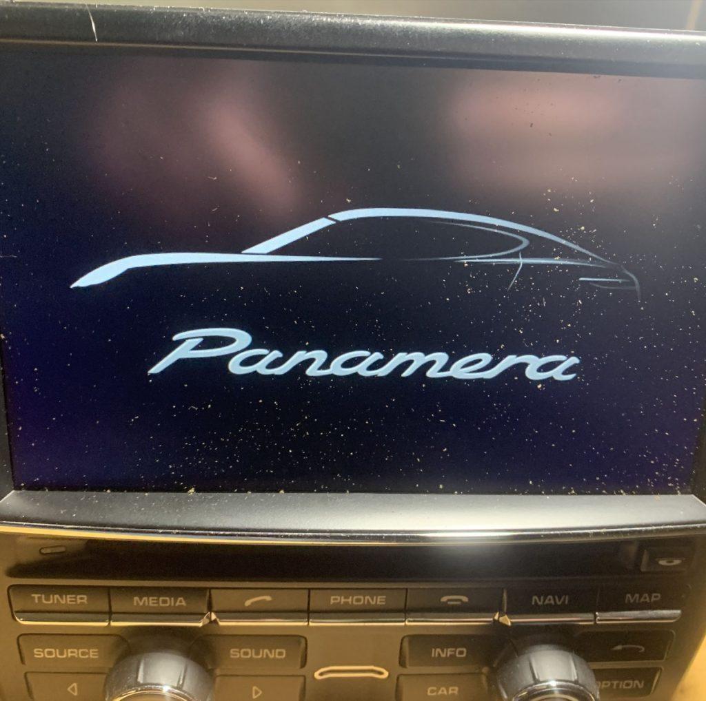 PCM 3.1 Panamera