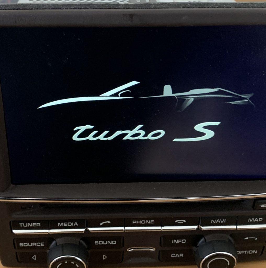 Porsche PCM Turbo S.